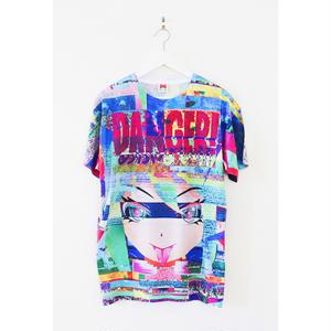 【OMOCAT】フルグラフィックT-sh  DANGERGIRL