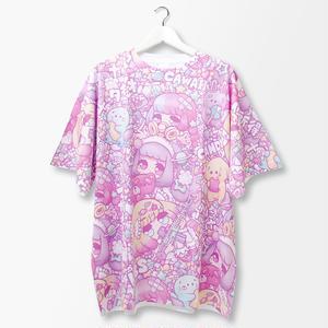 【PASTELiC】総柄Tシャツ