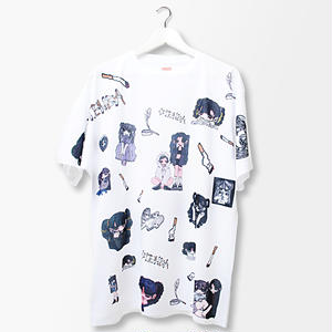 【OTENBA】総柄Tシャツ