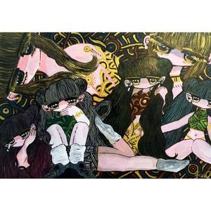 【Riho Kurokawa】原画「沼」