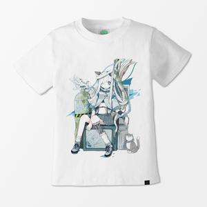 【YUtuKI】Cyber Angel Tシャツ