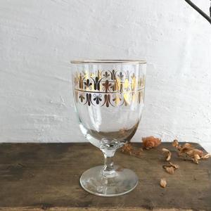 ヴィンテージゴブレットグラス