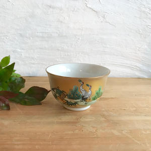 九谷焼/鶴と亀