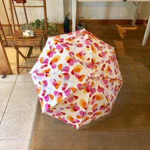 【花】(レ・フルール)【全2色】日傘(手元:白木2種)