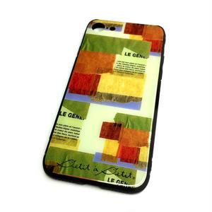 【壁】(ル・ミュール)【10日後発送】iphone7・8 スマートフォン背面ガラスケース