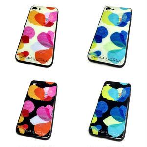【花】(レ・フルール)【全4色】【10日後発送】iphone7・8   スマートフォン背面ガラスケース