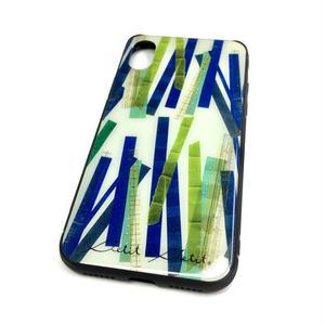 【竹】【10日後発送】iphone X  スマートフォン背面ガラスケース