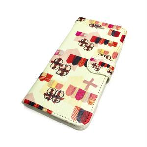 ★10日でお届け【チロル】iphone X/8/7/6S/6手帳型ケース