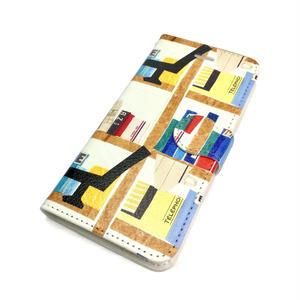 Android手帳型ケース/Lサイズ★10日でお届け【本】(リーブル)【全2色】