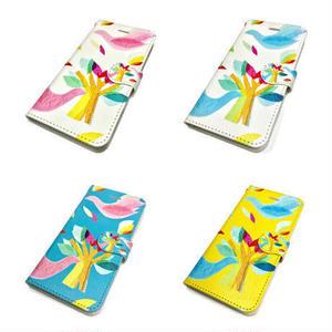 ★10日でお届け【鳥】(ロワゾ)【全4色】iphoneXR/XSMax/8 plus/ 7 plus/6 plus/6S plus手帳型ケース