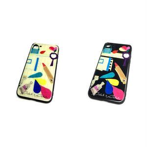 【文房具】(パプトリー)【全2色】【10日後発送】iphone7・8 スマートフォン背面ガラスケース