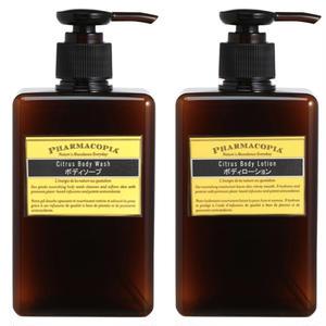 シトラス ボディウォッシュ & ボディローション   |   Citrus Body Wash&Lotion 280ml×2