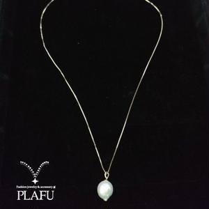 SHIZUKU pearl long necklace-twiggy-
