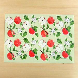 WP16 りんごのラッピングペーパー