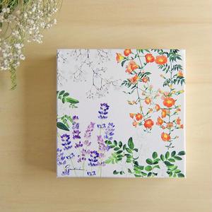 ファブリックパネル 夏のお花