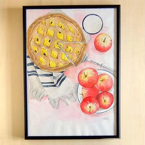 アップルパイとミルク