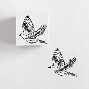 RS08 ラバースタンプ 鳥
