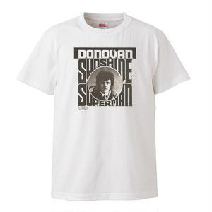 【Donovan-ドノヴァン/Sunshine Superman】5.6オンス Tシャツ/WH/ST-140