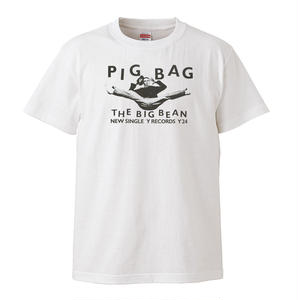 【PIG BAG-ピッグ・バッグ/The Big Bean-ビッグビーン】5.6オンス Tシャツ/WH/ST-121