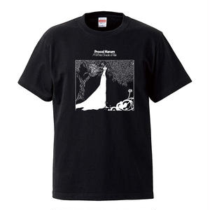 【Procol Harum-A Whiter Shade Of Pale/プロコル・ハルム】5.6オンス Tシャツ/BK/ST-058_wh
