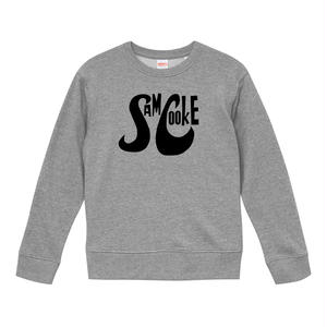 【Sam Cooke-サムクック/ロゴ・スウェット】9.3オンス スウェット/GY/SW- 240