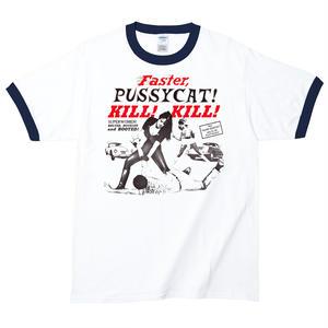 【Faster, Pussycat! Kill! Kill!/ファスター・プシィキャット!キル!キル!】5.3オンス Tシャツ/WH-NV/RT-127