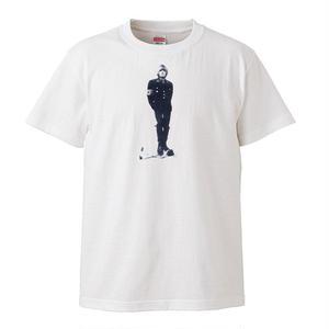 【Nazi Brian Jones/パティ・スミス着用】】5.3オンス Tシャツ/WH/ST- 247