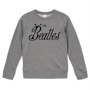 【The Beatles-ビートルズ/1963-バグロゴ】9.3オンス Tシャツ/GR/SW- 165