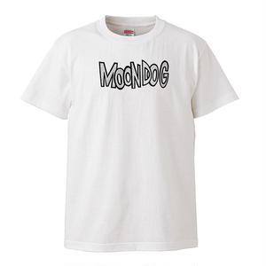 【Moon Dog /ムーン・ドッグ】5.6オンス Tシャツ/WH/ST-012_bk