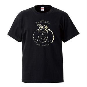 【Oye Como Va-Santana/サンタナ】5.6オンス Tシャツ/BK/ST-071