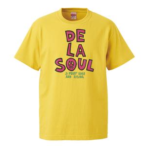 【DE LA SOUL-3FEET HIGH AND RISING/デラソウル】5.6オンス Tシャツ/YL/ST-115