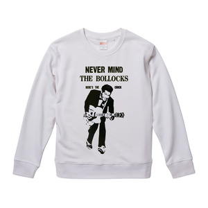 【Never Mind The Chuck Berry/チャックベリー】9.3オンス スウェット/WH/SW- 245