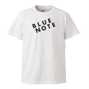 【BLUE NOTE/ ブルー・ノート】5.6オンス Tシャツ/WH/ST-096
