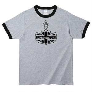 【Screaming Lord Sutch /スクリーミング・ロード・サッチ】5.3オンス Tシャツ/WH-BK/RT-143