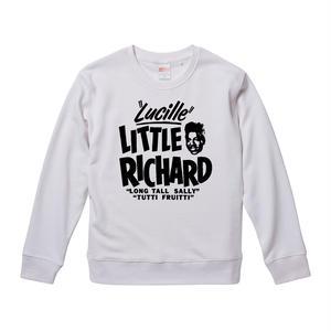 【Little Richard-リトルリチャード/Lucille】9.3オンス スウェット/WH/SW- 191