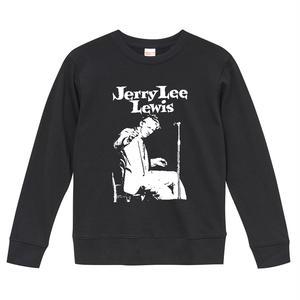 【Jerry Lee Lewis/ジェリー・リー・ルイス】9.6オンス スウェット/BK/ST- 223