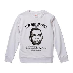 【Elmore James-Dust My Bloom/エルモア・ジェイムス】9.3オンス スウェット/WH/SW- 251