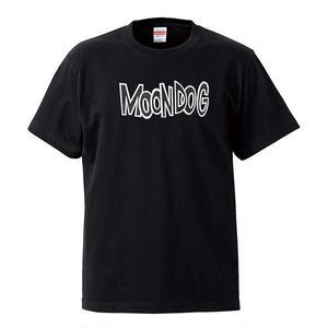 【Moon Dog /ムーン・ドッグ】5.6オンス Tシャツ/BK/ST-012_wh