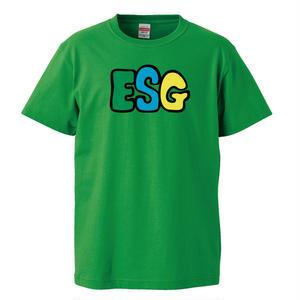 【ESG/イーエスジー】5.6オンス Tシャツ/GR/ST-051