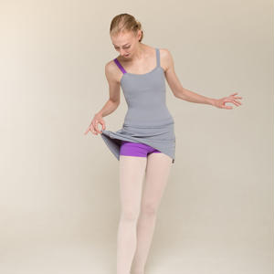 [Zi dancewear] The Skirt + Shorts Stretch・3型