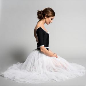 【予約商品】[Ballet Maniacs] Dream Leotard by Evgenia Obraztsova! Black