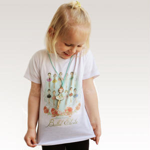 [Ballet Papier] T-SHIRT 'BALLET ÈTOILES' for Kids
