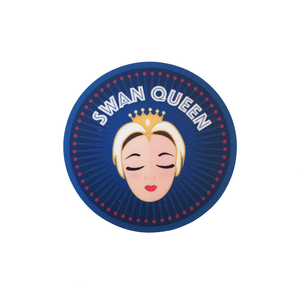 [The Ballet Bag] Odette Swan Queen Vinyl Laptop Sticker