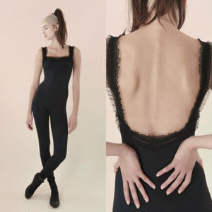 [Just A Corpse]  ELEANOR – black unitard with straps