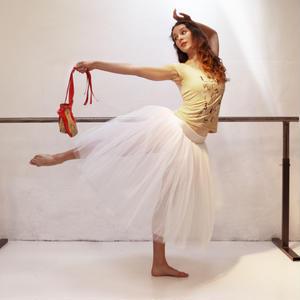 [Ballet Papier] T-shirt 'THE RED SHOES'