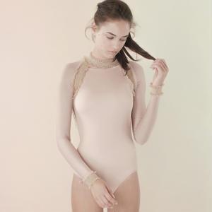 [Just A Corpse]  ELEANOR LIGHT – nude backless leotard