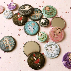 ポケットミラー(Vintage 全3種)