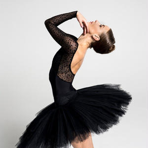 [Ballet Maniacs] Dream Leotard by Kristina Kretova! Black Dots