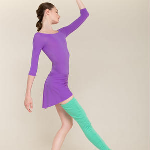 [Zi dancewear] One leg warmer mint(予約商品)