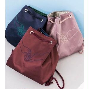 [予約商品・S M K] REVERSIBLE SATIN BAG